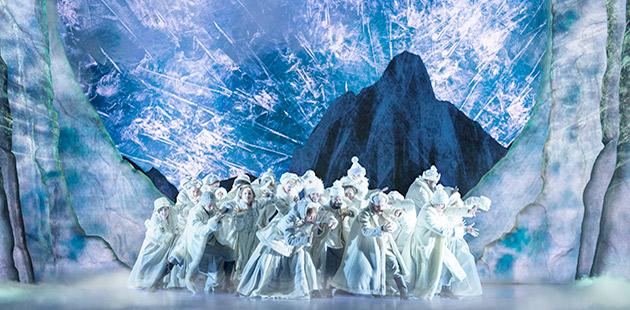 The Company of Frozen (Broadway) - photo by Deen van Meer