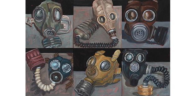 Gallipoli Art Prize Alison Mackay, Breathe, 2020 (detail)