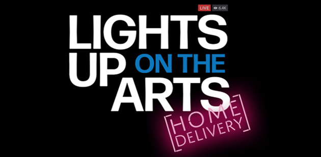 Lights Up On The Arts: Home Delivery!