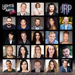 Lights Up On The Arts CAst
