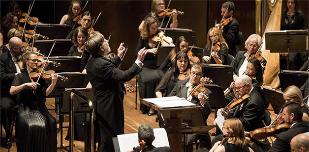 Melbourne Symphony Orchestra - photo by Daniel Aulsebroo