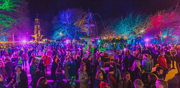 Prince's Square, Launceston - courtesy of Junction Arts Festival