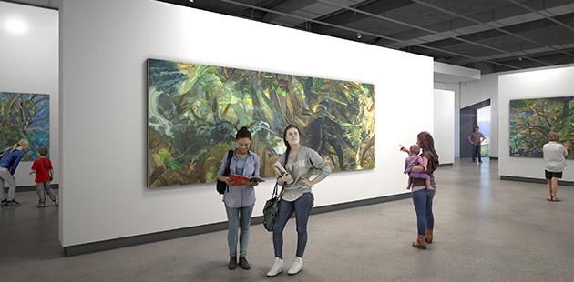 HOTA artist impression of new gallery