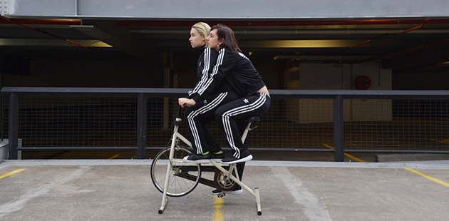 Parallel Park (Holly Bates and Tay Haggarty), Tandem, 2016 (digital photograph) - courtesy of the artists