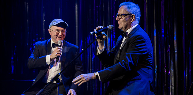 No Cabaret for Old Men Phil Scott and Jonathan Biggins - photo by John McRae