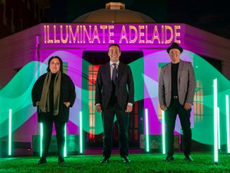 Illuminate-Adelaide-Rachael-Azzopardi-Premier-Steven-Marshall-and-Lee-Cumberlidge