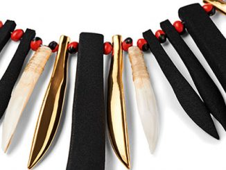 KHT-Maree-Clarke-Thung-ung-Coorang-(Kangaroo-Tooth-Necklace)-collection-(detail)-2018