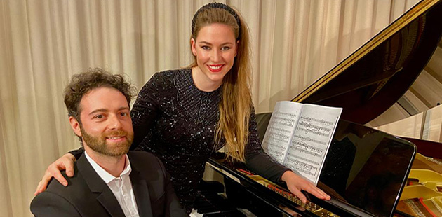 Vladimir Fanshil and Eleanor Lyons
