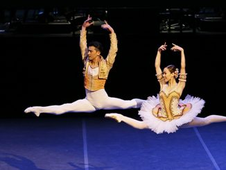 TAB Summer at the Ballet Chengwu Guo and Ako Kondo in Don Quixote photo Jeff Busby