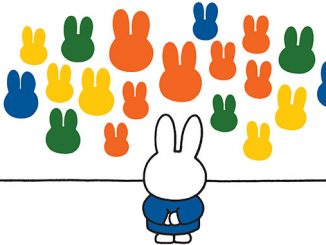 Bunjil-Place-Dick-Bruna-Miffy-at-the-gallery-1990