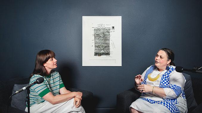 Tai-Snaith-and-Lisa-Waup-in-conversation-at-Mornington-Peninsula-Regional-Gallery-2021-photo-by-Theresa-Harrison