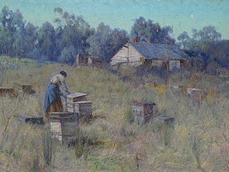 NGV-Clara-Southern-An-old-bee-farm-C.1900