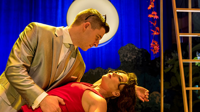 PINCHGUT The Loves of Apollo & Dafne Max Riebl as Cephalo and Alexandra Oomens as Aurora photo by Brett Boardman