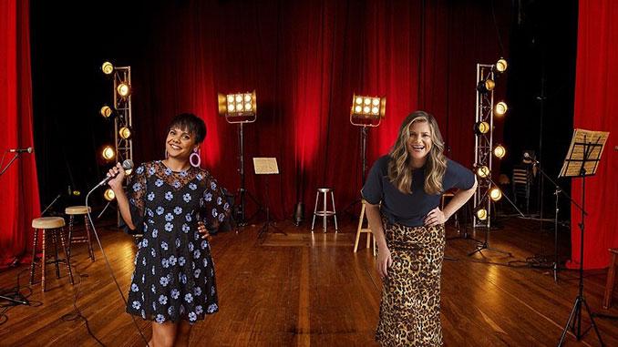 SBS-Australia's-Biggest-Singalong-Miranda-Tapsell-and-Julia-Zemiro