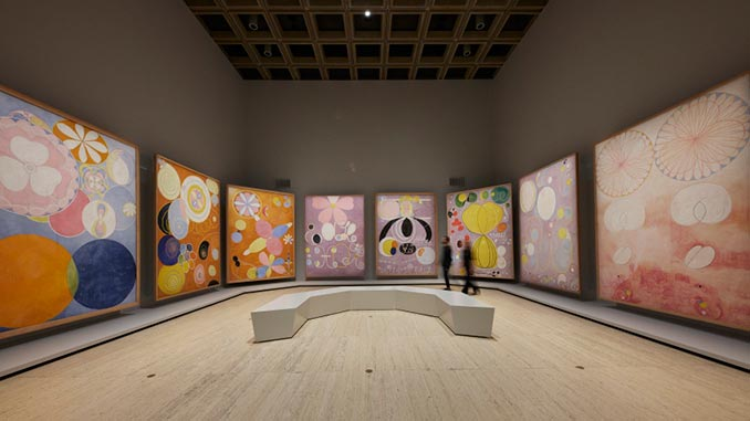AGNSW-Installation-view-of-Hilma-af-Klint-The-Secret-Paintings-photo-by-Jenni-Carter