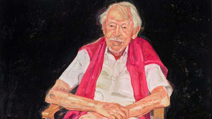 AGNSW-Peter-Wegner-Portrait-of-Guy-Warren-at-100-(detail)