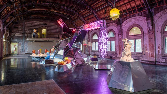Patricia-Piccinini-A-Miracle-Constantly-Repeated-Installation-View-Flinders-St-Ballroom-photo-by-Eugene-Hyland